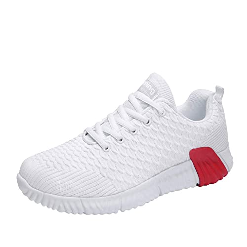 aca058ae6e Mens Shock Absorbing Running Trainers Lightweight Casual Sports Shoes  Breathable Outdoor Sneakers  Amazon.co.uk  Shoes   Bags