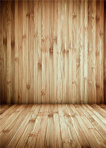7x5ft Vintage Abstract Wood Backdrop Photography Board Wooden Wall Background for Wedding Birthday Party Baby Shower Newborn Child Family Portrait Photo Studio Photography Props BoTong-qx525-5x7ft - Board Background