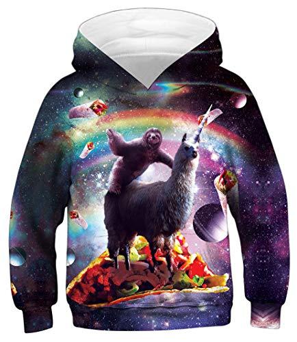 Azuki Alpaca Hoodies for Kids (Kids Alpaca Sweater)