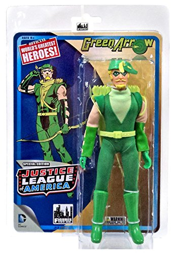 "DC Justice League of America World's Greatest Heroes! Green Arrow 8"" Action Figure from Figures Toy Company"