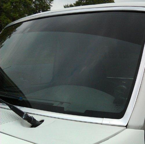 Window tint windshield strip
