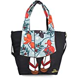 Women Kimono Tote Shoulder Bag - Large Japanese Fashion Shoulder Bags