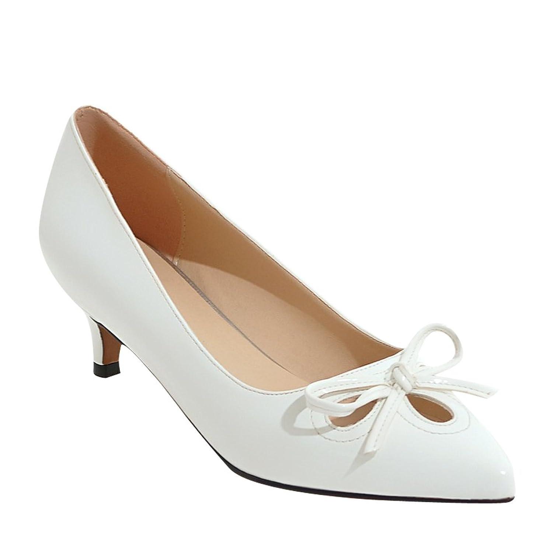 f6b59bbc4f6 high-quality Latasa Womens Pointed Toe Kitten Heels Dress Pumps ...