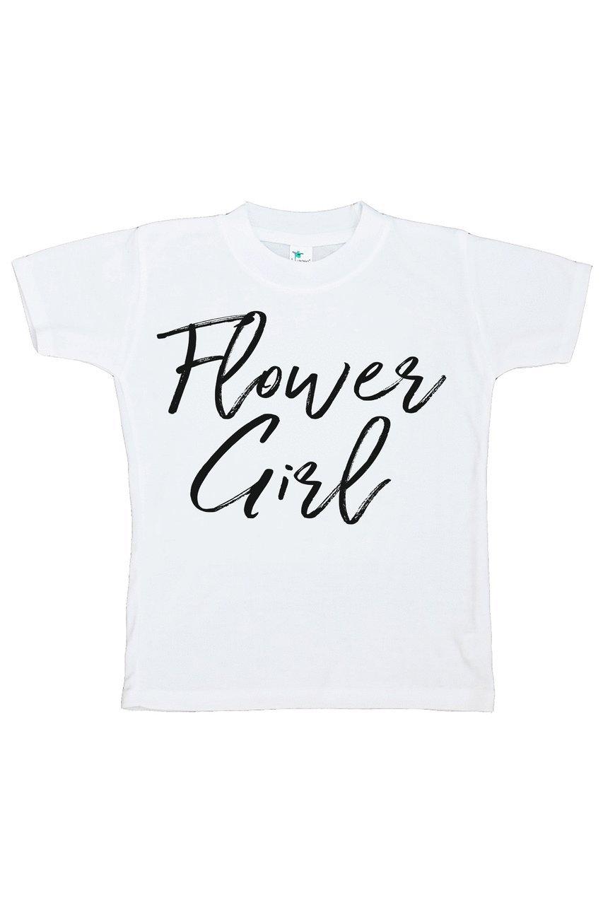 Custom Party Shop Youth Girl's Flower Girl Wedding T-shirt Medium