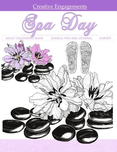 Spa Day Adult Colouring Book Doodle Pad and Journal: Adult Colouring Book; Day Planners in al; Adult Coloring Books Disney in al; Adult Coloring Book ... in al; Adult Coloring Books Birthday in al