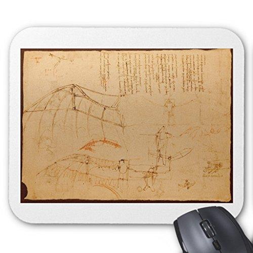 Zazzle Design for a Flying Machine Mouse (Mona Lisa Portrait Costume)