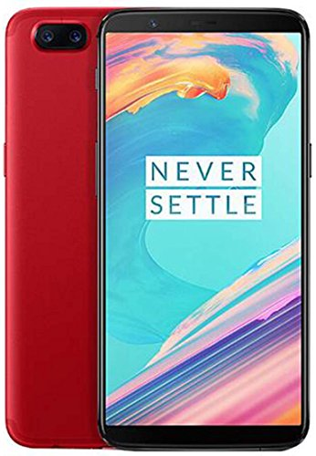 OnePlus 5T A5010 - 8GB RAM + 128GB - 6.01 inch - International Version / No Warranty (Lava Red)