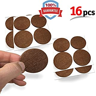 Mighty X Heavy Duty Felt Furniture Pad Protectors By IPrimio   Pack 16 Pcs,  Place