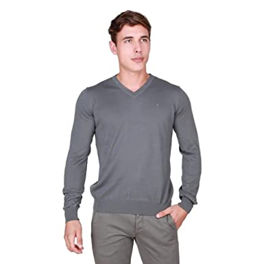 Men at Clothing Trussardi Sweaters Grey store Men's Amazon rxeodCB
