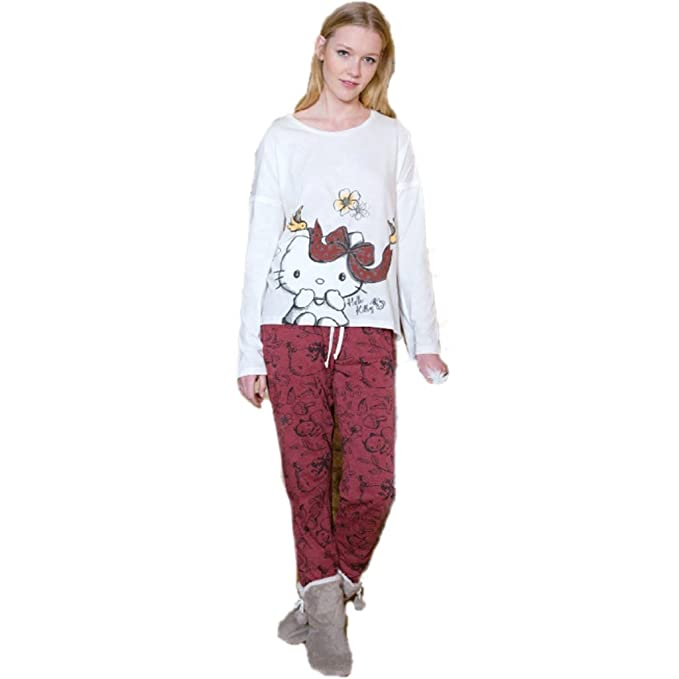 Pijama HELLO KITTY Mujer LAZO (S)