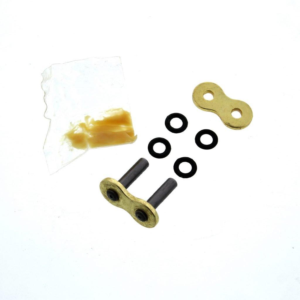 1998-2005 Fits Honda VTR1000F SUPER HAWK CZ SDZ Gold X Ring Chain//Sprocket 16//41 110L
