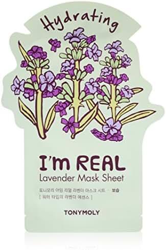 TONYMOLY I'm Real Lavender Hydrating Sheet Mask