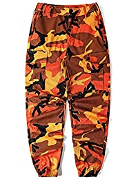 Men's Casual Slim Fit Camo Jogger Cargo Pant
