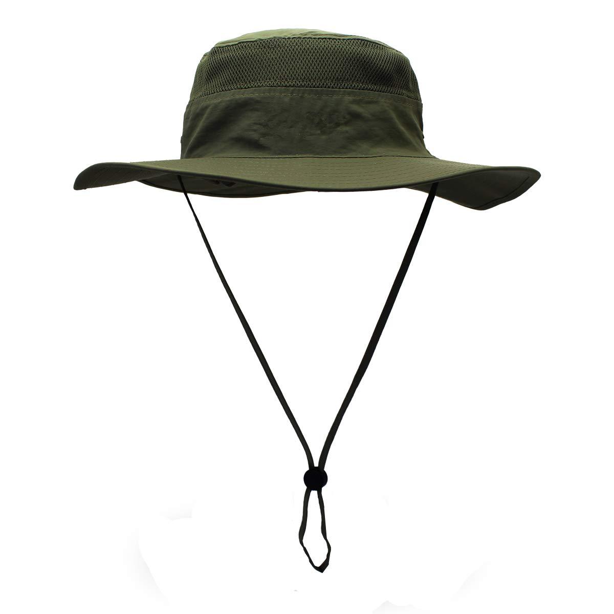 Sombrero de Pesca para Senderismo Croch Sombrero de Sol para Hombre y Mujer protecci/ón UV Transpirable Viajes Camping 60 cm Pesca