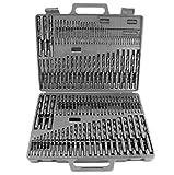 Power Tools 115pc HSS High Speed Steel Drill Bit Set Metal w/ Index Case NEW! Reviews