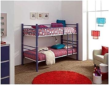 Litera forja mod.410 Convertible en 2 camas de 90x190cms.: Amazon.es: Hogar