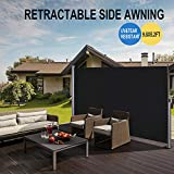 BELLEZE 9.8 x 5.2ft Retractable Side Awning Folding