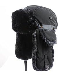 Trapper Hat Winter Ear Flap Hat Adjustable Waterproof Windproof Skiing Cap For Men Women