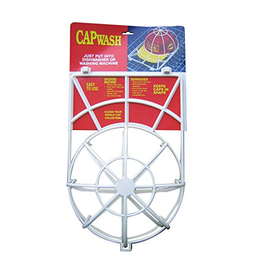 Fullfun Cap Washer - Hat Washing Frame Cage - Baseball Hat Cleaner - Hat Rack ()