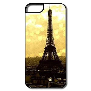 IPhone 5 5S Cover, Paris Eifel Tower White/black Cases For IPhone 5/5S
