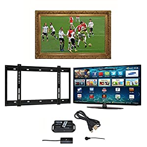 55 gold barbican tv mirror frame samsung ue55ku6000 for Mirror for samsung tv