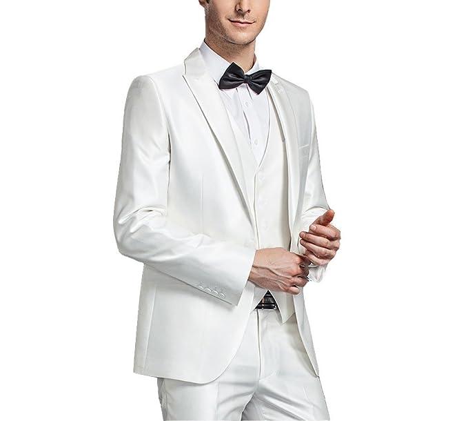 Leader of the Beauty - Traje - para hombre Blanco blanco 34 ...