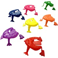 TOYMYTOY 100pcs Jumping Toy Hoppers Passover Flip Frogs Funny Finger Pressing Jumping