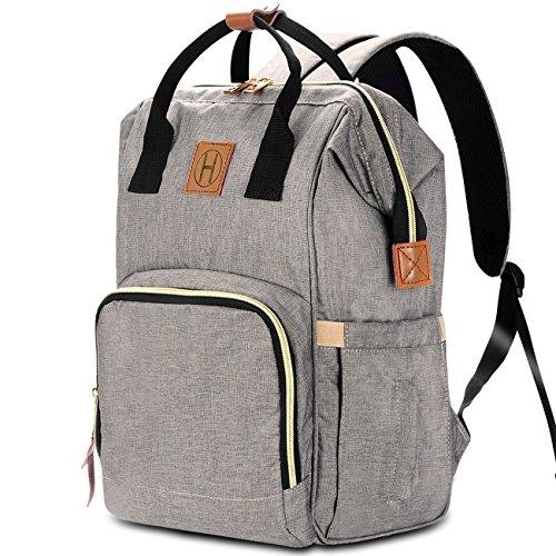 HaloVa Diaper Bag Multi-Functional Portable Travel Backpack