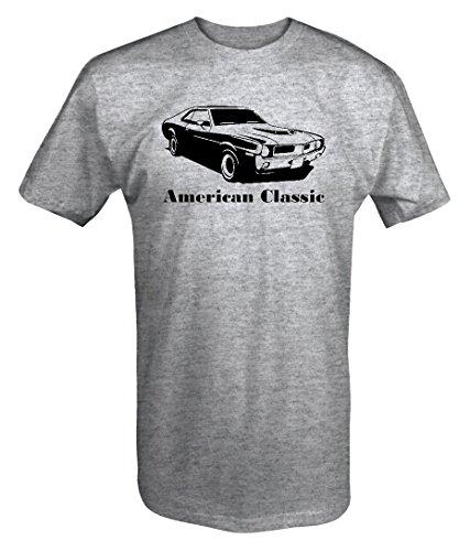 Amc Javelin - American Classic AMC Javelin 1970's AMX Muscle Car T shirt - Large