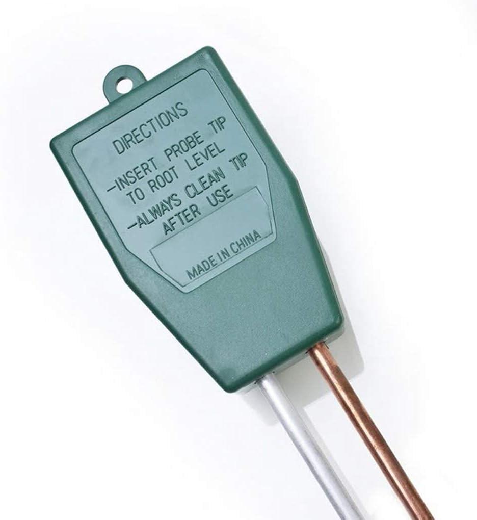 rongweiwang 3 in 1 Terreno pHmetro Vaso da Fiori Suolo Meter Piante Crescita igrometro Suolo Tester Piante Crescita umidit/à intensit/à Luminosa Detector