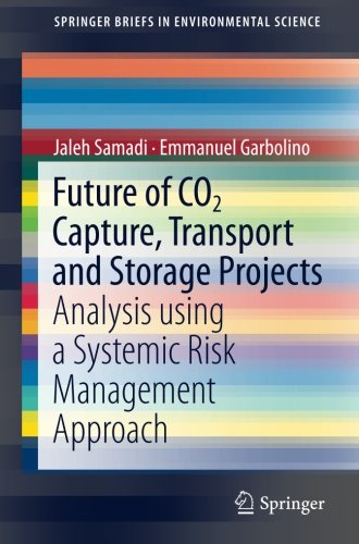 Read Online Future of CO2 Capture, Transport and Storage Projects: Analysis using a Systemic Risk Management Approach (SpringerBriefs in Environmental Science) PDF