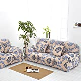 Stretch slipcover sofa,Four seasons covers All Cover European style Sofa cushions Fabric Simple Modern Couch covers furniture protector for 1 2 3 4 cushions sofa-T Chair