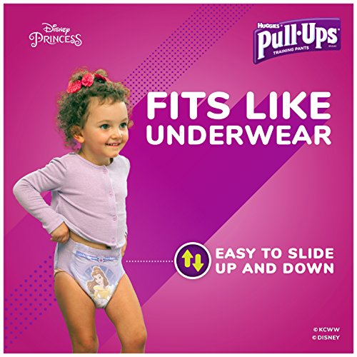Pull-Ups Night-Time Potty Training Pants for Girls, 3T-4T (32-40 lb.), 20 Ct. (Packaging May Vary) (Pack of 4) by Huggies (Image #3)