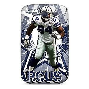 Samsung Galaxy S3 SzO14679GCWD Allow Personal Design Vivid Dallas Cowboys Pattern Perfect Hard Cell-phone Case -ChristopherWalsh