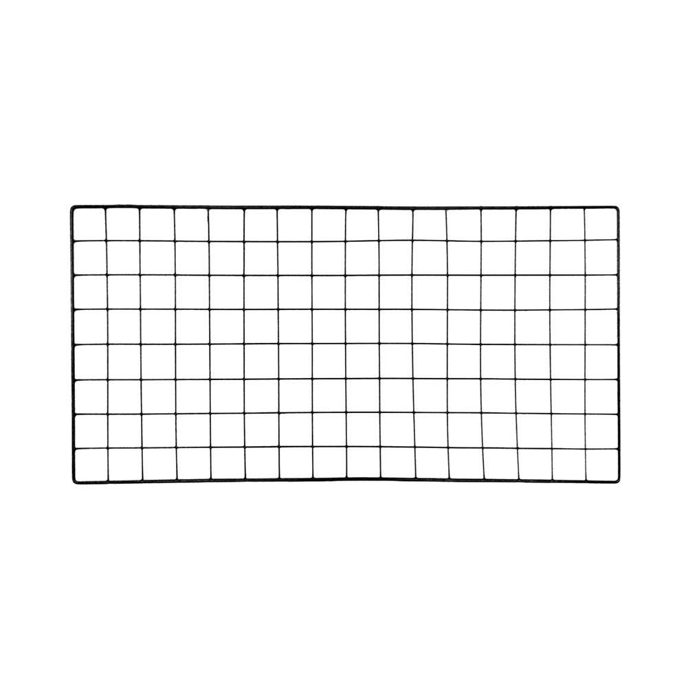 Grid Photo Wall, Multifunction DIY Mesh Grid Panel photo wall display for Photo Wall/Wall Art Display & Organizer/Wall Decor Funsquare