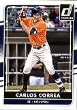 2016 Donruss #59 Carlos Correa Houston Astros Baseball Card in Protective Screwdown Display Case
