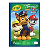 Crayola Giant Colouring Pages, Paw Patrol, Gift for Boys and Girls, Kids, Ages 3,4, 5, 6 and Up, Holiday Gifting, Travel, Arts and Crafts