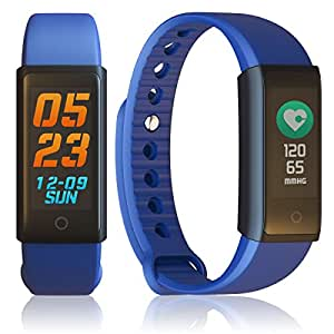 Indigi Fitness Bluetooth Smart Bracelet Watch Pedometer Sport Wristband Water Resistant