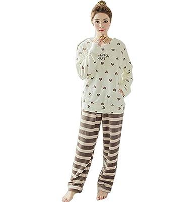 c5503b3602c2fa sunnymall もこもこ パジャマ ルームウェア あたたかい かわいい ペア 長袖 レディース 着心地 長ズボン 春 秋
