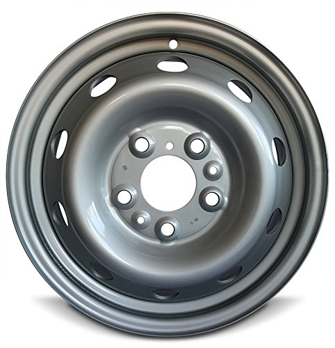 -   Road Ready Car Wheel For 2014-2019 Dodge Promaster 3500 Dodge Promaster 2500 Dodge Promaster 1500 16 Inch 5 Lug Gray Steel Rim Fits R16 Tire - Exact OEM Replacement - Full-Size Spare