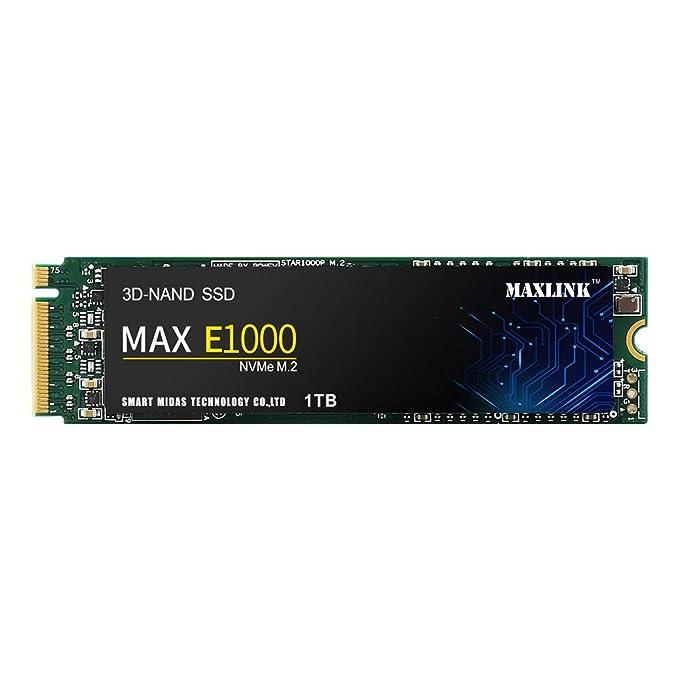 MAXLINK MAX E1000 SSD 1TB PCIE NVMe M.2 2280 Interno SSD Unidad de ...