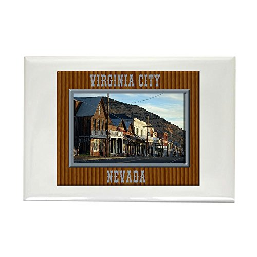 CafePress Virginia City Magnets Rectangle Magnet, 2