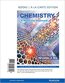 Chemistry a molecular approach books a la carte edition 4th chemistry a molecular approach books a la carte edition 4th edition nivaldo j tro 9780134113593 books amazon fandeluxe Choice Image