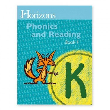 Horizons K Phonics and Reading Book 4 (Lifepac) by Alpha Omega Publications