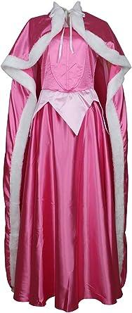 CLLMKL Disfraz de Princesa Aurora para Adulto: Amazon.es: Ropa ...