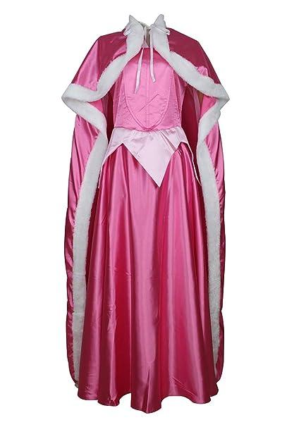 CLLMKL Disfraz de Princesa Aurora para Adulto: Amazon.es ...