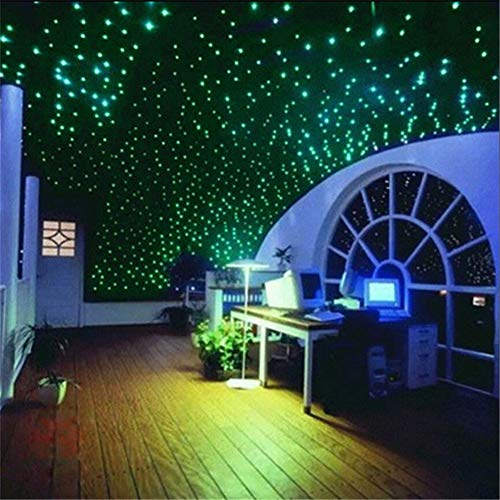 aooyaoo 721pcs 3D Glow Star Ceiling Glow in