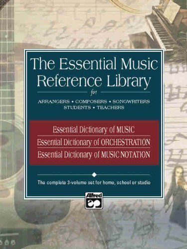 (Essential Music Reference Library: Boxed Set (3 Books) (Essential Dictionary) by Black, Dave, Gerou, Tom, Harnsberger, L. C. published by Alfred Publishing Co.(UK)Ltd (2002))