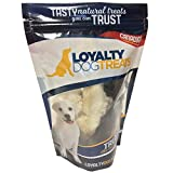 Loyalty Dog Treats, Rabbit Feet for Dogs, All Natural and Healthy Rich Source of Fibre, Free Range, Dehydrated Canadian Product, Free of Any Hormones or Additives; 150g Bag