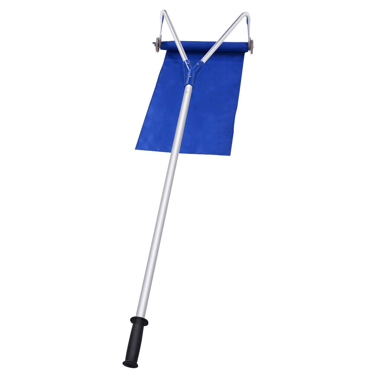 QWE Roof Snow Rake Removal Tool 20 Ft with Adjustable Telescoping Handle Will Relieve Your House of The Heavy Snow Relieves Your Back of Any Strenuous Difficult Work